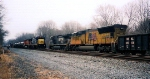 CSX 7528, BNSF 4787, NS 9855 & UP 3905